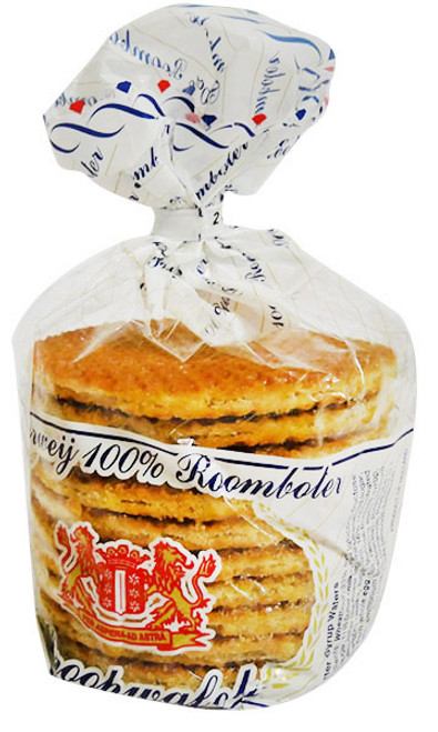 Dutch Bakery - Stroopie - 100 % Butter (252g - 8 Syrup Wafers)
