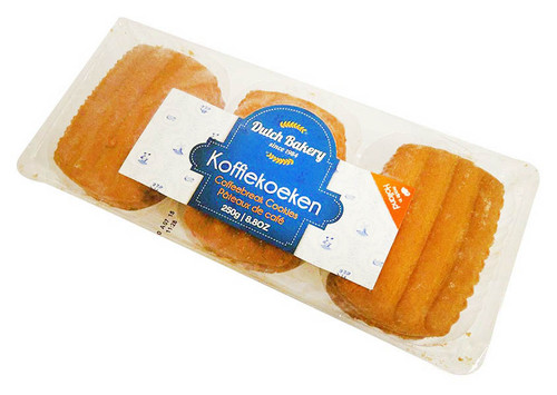 Dutch Bakery - Koffiekoeken (250g - 12 Coffee break biscuits)