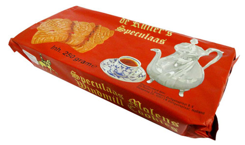 De Ruiter - Dutch Speculaas Cookies Large (250g packet - 12 Biscuits)