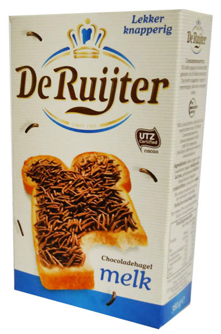 De Ruijter - Milk Chocolate Sprinkles and more Other at The Professors Online Lolly Shop. (Image Number :16045)