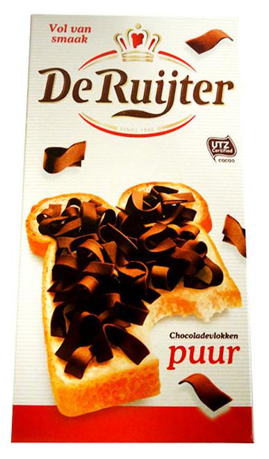 De Ruijter - Dark Chocolate Flakes  (300g)