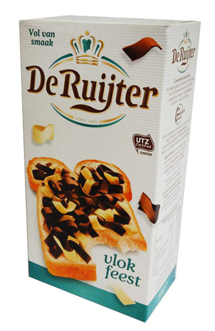 De Ruijter - Chocolate and Vanilla Flakes and more Other at The Professors Online Lolly Shop. (Image Number :16405)