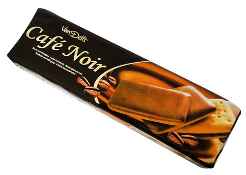 Van Delft - Cafe Noir  (200g - Approx 26 coffee Iced Biscuits)