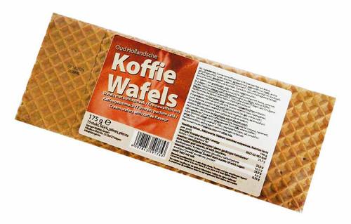 Oud Hollandsche - Koffie Wafels  (175g - 15 Cream Wafers Coffee Flavoured )