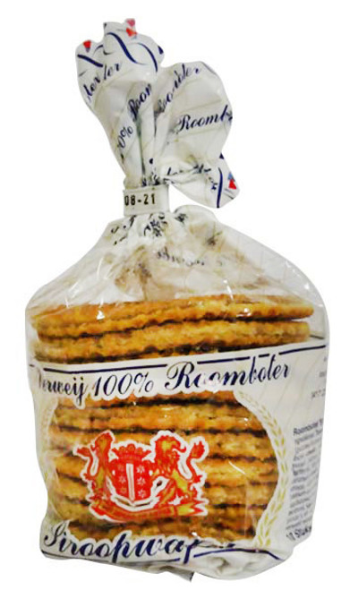 Verweij - Stroopwafels - 100 % Butter (325g - 10 Syrup Wafers)