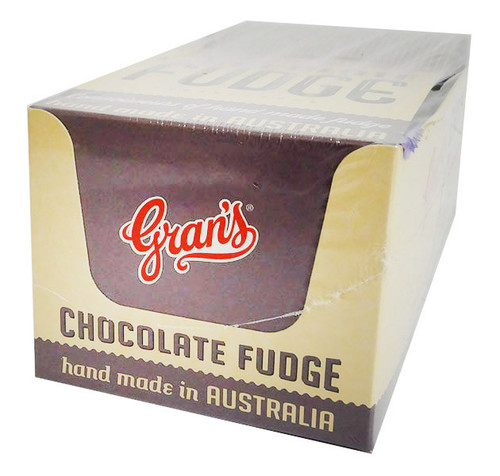 Grans  Chocolate Fudge, by Grans,  and more Confectionery at The Professors Online Lolly Shop. (Image Number :15843)