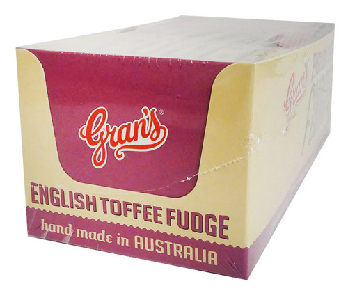 Grans  English Toffee (15pc x 40g in a display box)