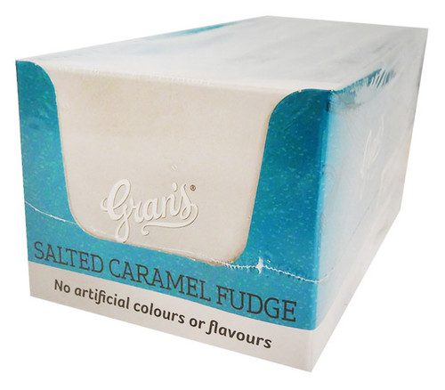 Grans Salted Caramel Fudge (15pc x 40g in a display box)