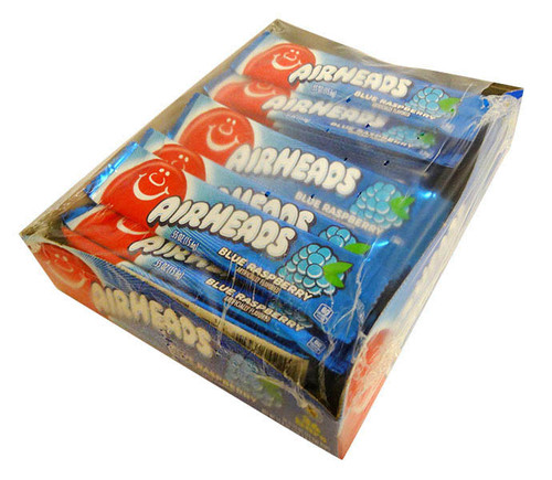 AirHeads - Blue Raspberry and more Confectionery at The Professors Online Lolly Shop. (Image Number :15877)