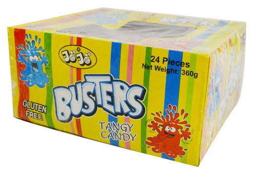 JoJo Busters Tangy Candy - Soft Bag (24pc x 15g bag display unit)