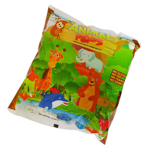 Snowtime Animal Pops (35ml x 10pc bag)