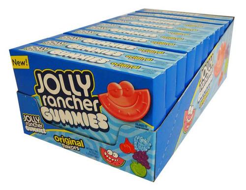 Jolly Rancher Movie Box - Original Gummies (128g x 11 packs in a display unit)