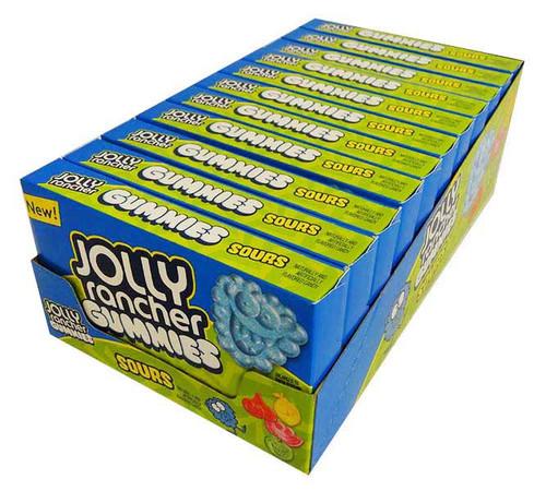 Jolly Rancher Movie Box - Sour Gummies (99g x 11 packs in a display unit)