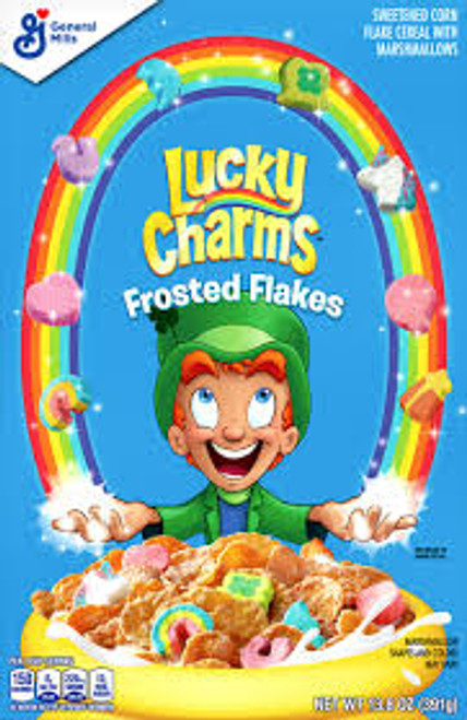 Lucky Charms - Frosted Flakes and more Snack Foods at The Professors Online Lolly Shop. (Image Number :15255)