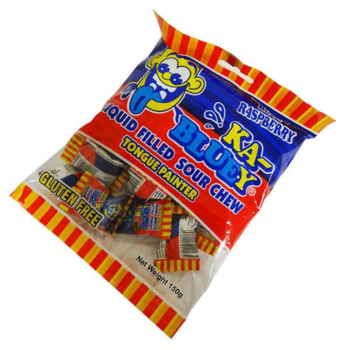 Ka-Bluey liquid filled Sour Chews - Hang Sell, by TNT,  and more Confectionery at The Professors Online Lolly Shop. (Image Number :16458)