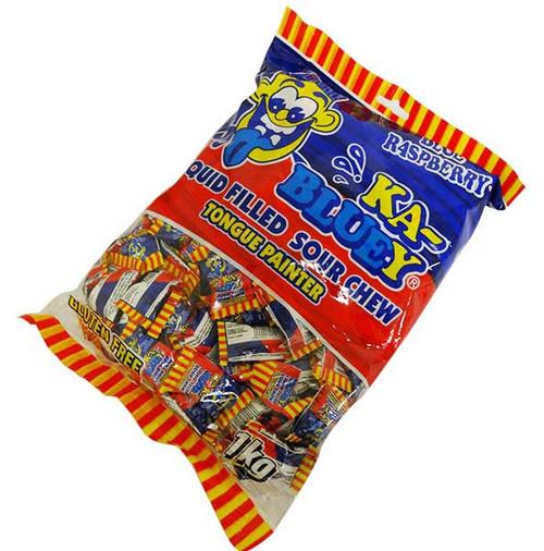 Ka-Bluey liquid filled Sour Chews - Tongue Painter (1kg bag)