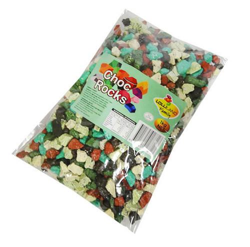 Lolliland Choc Rocks (1kg Bag)