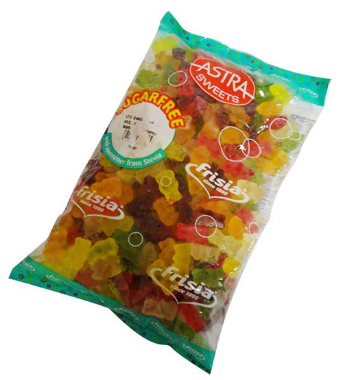 Astra Sugar Free Bears and more Confectionery at The Professors Online Lolly Shop. (Image Number :15944)