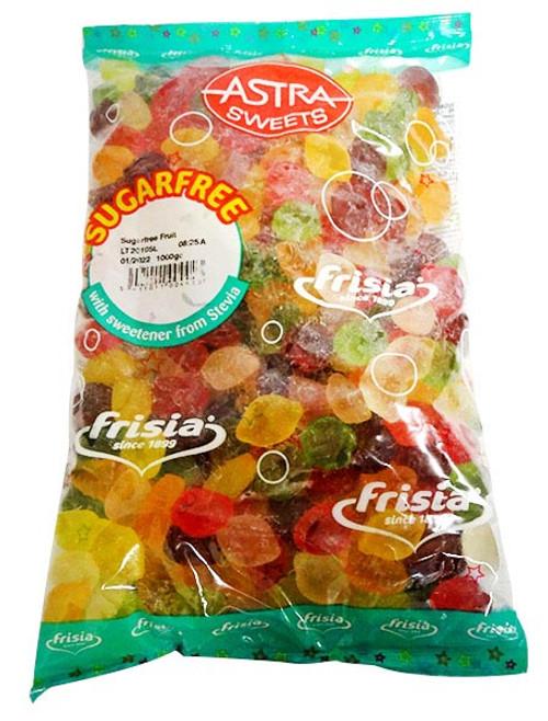 Astra Sugar Free Fruit (1kg bag)