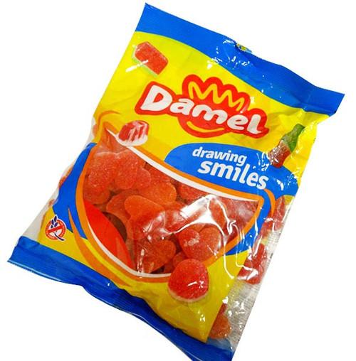 Damel Peach Hearts (1kg bag)