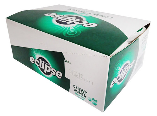 Eclipse Chewy Mints - Spearmint (6 x 93g tubs in a display box)