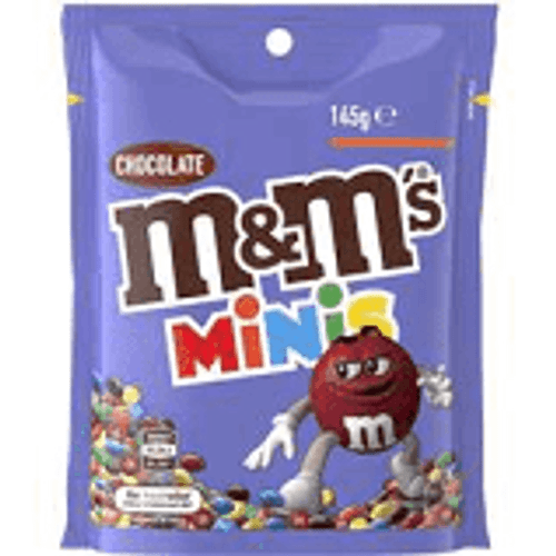 M&M Mini - BULK Pouches, by Mars,  and more Confectionery at The Professors Online Lolly Shop. (Image Number :15434)
