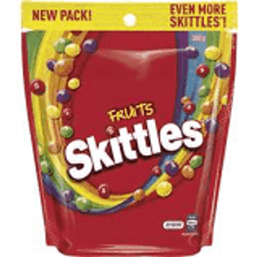 Skittles Fruit - SINGLE Pouch, by Mars,  and more Confectionery at The Professors Online Lolly Shop. (Image Number :15436)