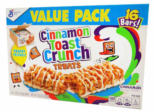 Cinnamon Toast Crunch Treats (16 x 24g bars in a box)