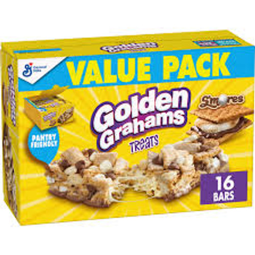 Golden Grahams Treats and more Snack Foods at The Professors Online Lolly Shop. (Image Number :15448)