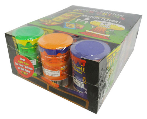 Toxic Waste Drums Coloured and more Confectionery at The Professors Online Lolly Shop. (Image Number :16256)