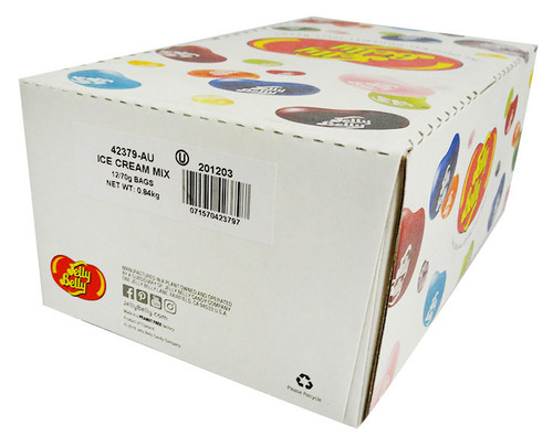 Jelly Belly - Ice Cream Mix (70g x 12 bags in a display box)