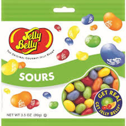 Jelly Belly - Sour, by Jelly Belly,  and more Confectionery at The Professors Online Lolly Shop. (Image Number :15467)