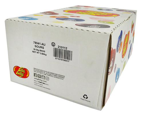 Jelly Belly - Sour (70g x 12 bags in a display box)
