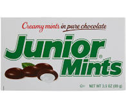 Junior Mints, by Tootsie Roll Industries,  and more Confectionery at The Professors Online Lolly Shop. (Image Number :15485)