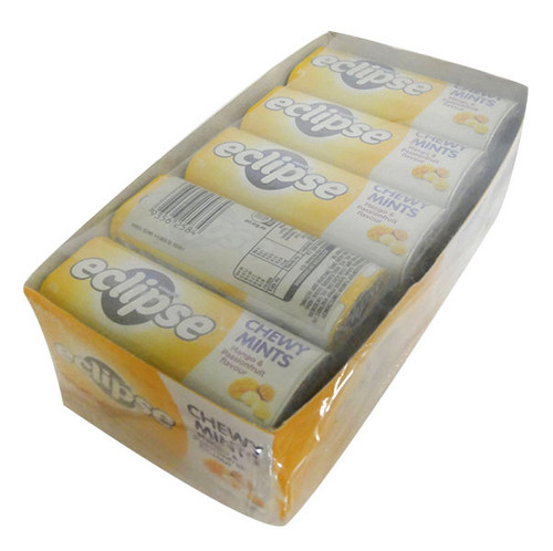 Eclipse Chewy Mints - Mango and Passionfruit  - Half Pack  (27g x 10 Tins in a Display)