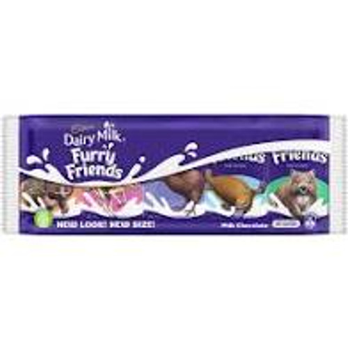 Furry Friends Share Box, by Cadbury,  and more Confectionery at The Professors Online Lolly Shop. (Image Number :15512)