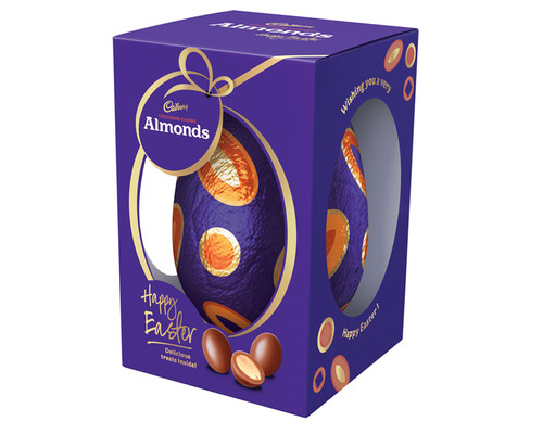 Cadbury Scorched Almond Easter Gift Box, by Cadbury,  and more Confectionery at The Professors Online Lolly Shop. (Image Number :15539)