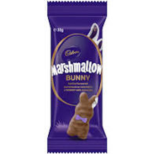 Cadbury Vanilla Marshmallow Bunny, by Cadbury,  and more Confectionery at The Professors Online Lolly Shop. (Image Number :15548)