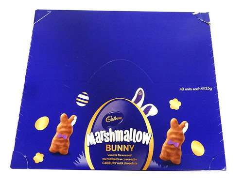 Cadbury Vanilla Marshmallow Bunny, by Cadbury,  and more Confectionery at The Professors Online Lolly Shop. (Image Number :15722)