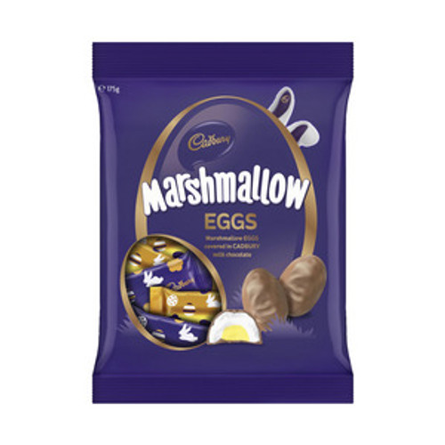 Cadbury Marshmallow Eggs - Approx 7 eggs, by Cadbury,  and more Confectionery at The Professors Online Lolly Shop. (Image Number :15550)