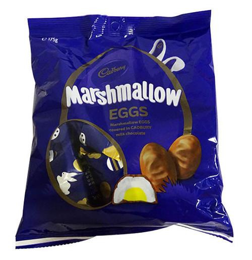 Cadbury Marshmallow Eggs - Approx 7 eggs (175g bag)