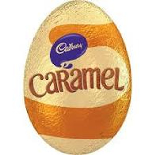 Cadbury Caramel Egg, by Cadbury,  and more Confectionery at The Professors Online Lolly Shop. (Image Number :15563)