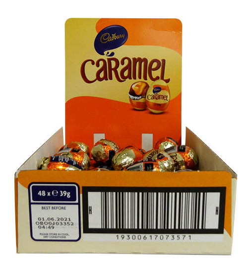 Cadbury Caramel Egg, by Cadbury,  and more Confectionery at The Professors Online Lolly Shop. (Image Number :15701)