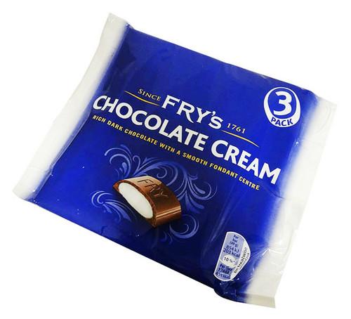 Fry's Chocolate Cream (3 x 49g bars)