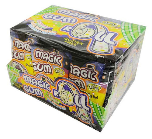 JoJo Magic gum Roll and more Confectionery at The Professors Online Lolly Shop. (Image Number :16296)
