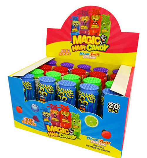 Magic Hair Candy, by AIT Confectionery,  and more Confectionery at The Professors Online Lolly Shop. (Image Number :16622)