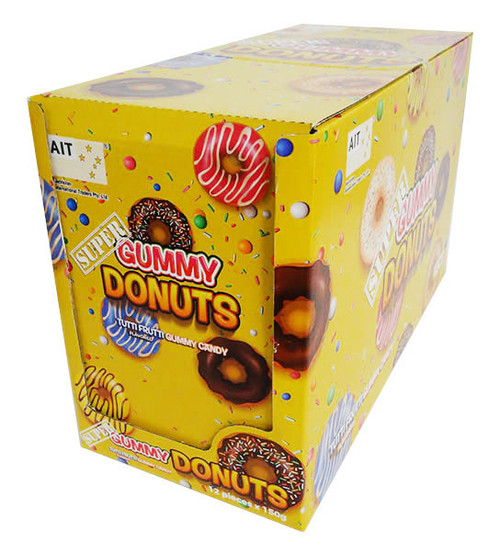 Super Gummy Donuts (12 x 150g individually packaged)