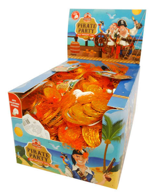 Pirate Party Coins, by Universal Candy,  and more Confectionery at The Professors Online Lolly Shop. (Image Number :16653)