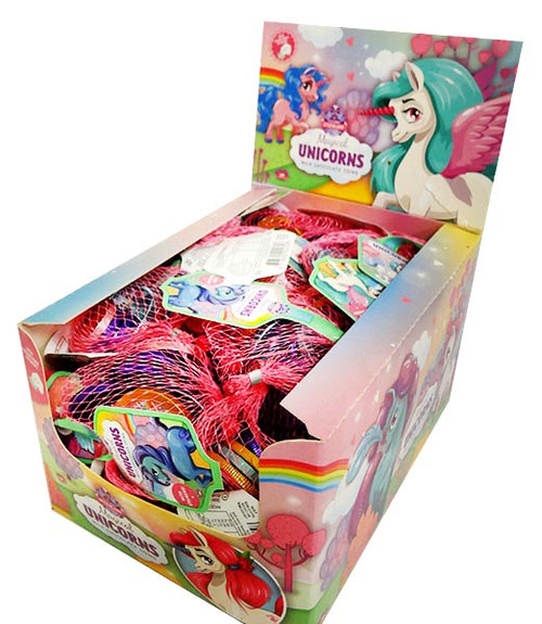 Unicorn  Coins, by Universal Candy,  and more Confectionery at The Professors Online Lolly Shop. (Image Number :16263)