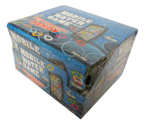 Mobile Water Game With Compressed Candy (24x5g in a display box)
